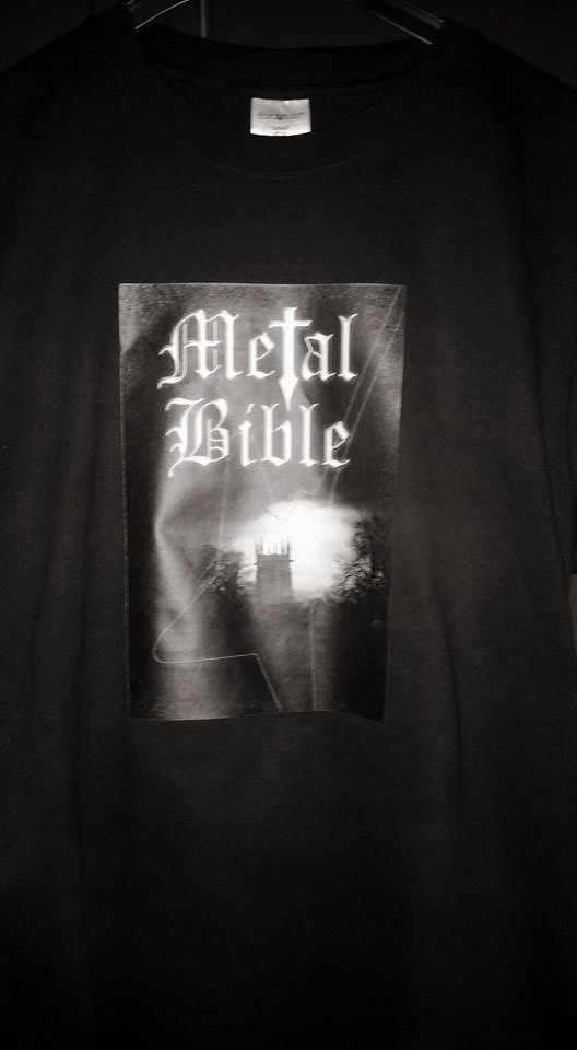 Metal Bible T-shirt
