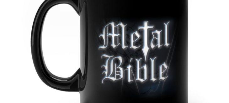 Metal Bible Mug